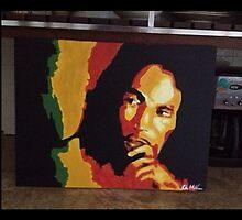 Bob Marley  by Claire Hollander