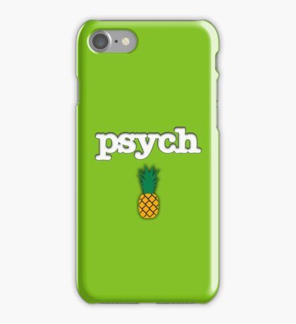 Psych Pineapple Design iPhone Case/Skin