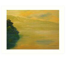 Sylvan Lake Art Print