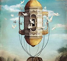 Imaginary Traveler by ChristianSchloe