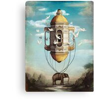Imaginary Traveler Canvas Print