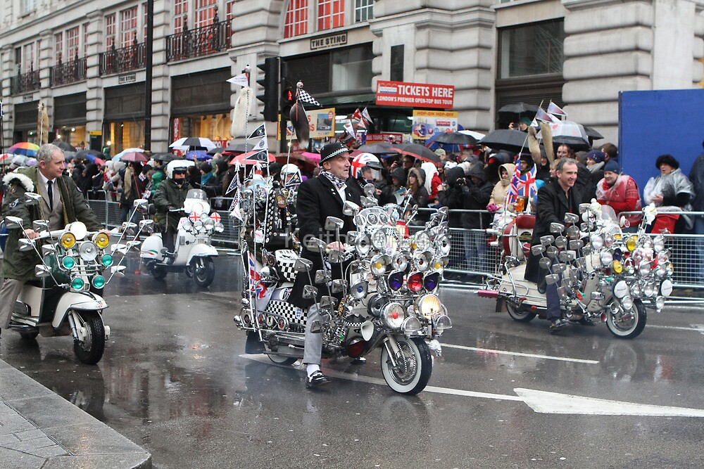 New Year's Day Parade  London 2014 by Keith Larby