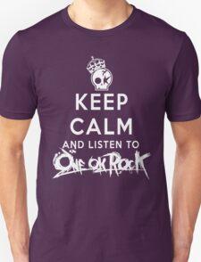 keep calm - one ok rock enjoy Unisex T-Shirt