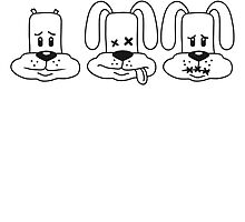 Three Wise Bunnys by Style-O-Mat