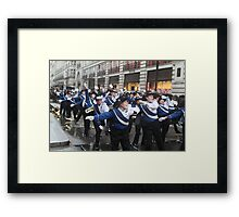 New Year's Day Parade  London 2014 Framed Print