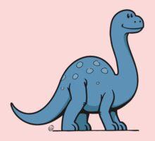 DinoKids Brontosaurus 01 One Piece - Long Sleeve