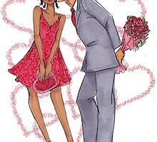 Valentine Kisses by veronicamarche