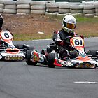 Kart Racing by Rodney Wratten