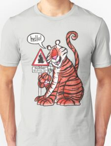 Over-familiar tiger T-Shirt