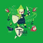 the legend of tingle: the magic words of time by louros