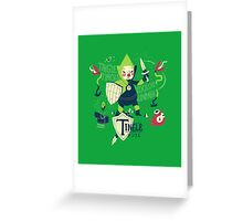 the legend of tingle: the magic words of time Greeting Card