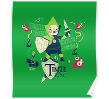 the legend of tingle: the magic words of time Poster