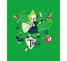 the legend of tingle: the magic words of time Photographic Print