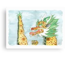 Korean Dragon I Canvas Print