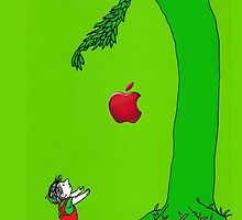 The giving tree apple by ujin2010