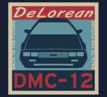 DeLorean DMC–12 RETRO by TheGearbox