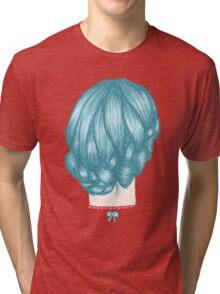 Blue Braid Tri-blend T-Shirt
