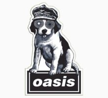 "Oasis ""Dog Logo T-Shirt"" by dieorsk2"