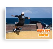 Stand Up Grind Canvas Print
