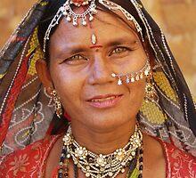 Rajasthani Beauty by AroundOurWorld