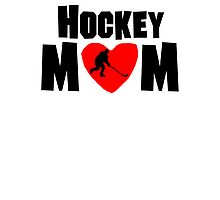 Hockey Mom Photographic Print