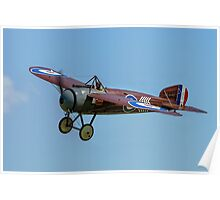 "Bristol M1C ""Bullet"" replica C4918 G-BWJM Poster"