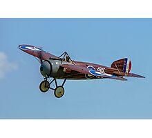 "Bristol M1C ""Bullet"" replica C4918 G-BWJM Photographic Print"