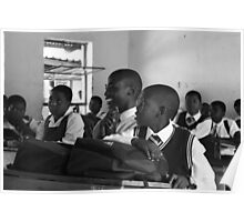 AFRICAN CLASSROOM Poster