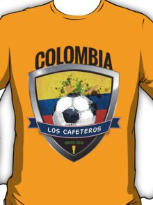 Colombia - World Cup Brasil 2014 Collection T-Shirt