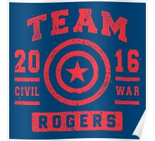 TEAM ROGERS Poster