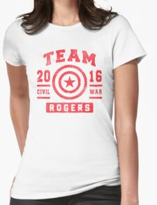 TEAM ROGERS Womens Fitted T-Shirt