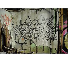 Freeform Graffiti - Photographic Print