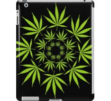 Cannabis Leaf Circle iPad Case/Skin