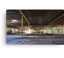 Graffiti in an old abondon Connecticut factory - Canvas Print