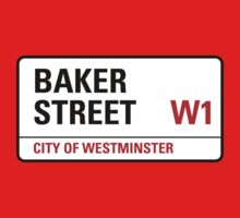 Baker Street Sign Kids Clothes