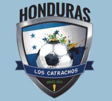 Honduras - World Cup Brasil 2014 Collection by idandesign
