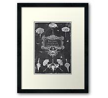 wet rain Framed Print