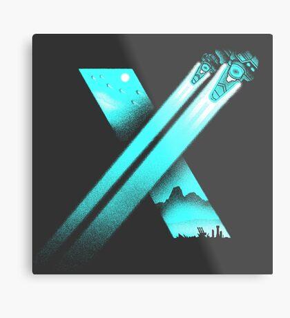 XENO CROSS Metal Print