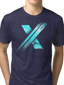 XENO CROSS Tri-blend T-Shirt