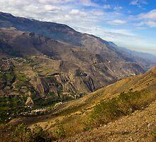 Andes Mountains Vista in Ecuador by Al Bourassa