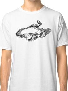 steampunk vintage welding goggles Classic T-Shirt