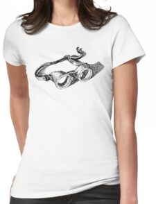 steampunk vintage welding goggles Womens Fitted T-Shirt