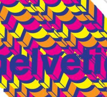 Helvetica  Sticker