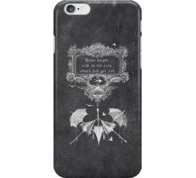 wet rain iPhone Case/Skin