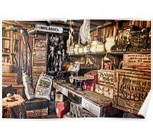 Country Store Supplies Poster