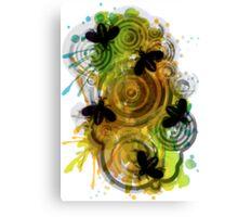 Buzz, Buzz, Buzzing Canvas Print