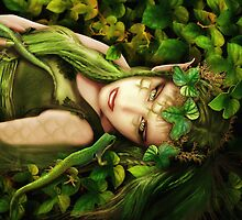 Elf Hazel by Babette van den Berg/ Babsartcreations