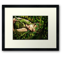 Elf Hazel Framed Print