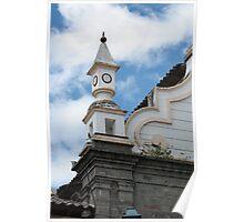 La Matriz Church Architecture Poster