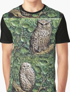 """Exclusive: """" Chouettes-Owl """" / My Creations Artistic Sculpture Relief fact Main 37  (c)(h) by Olao-Olavia / Okaio Créations Graphic T-Shirt"""